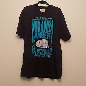 Miranda Lambert Concert Tshirt